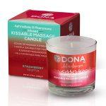 Dona | Kissable Massage Candles | Strawberry Soufflé