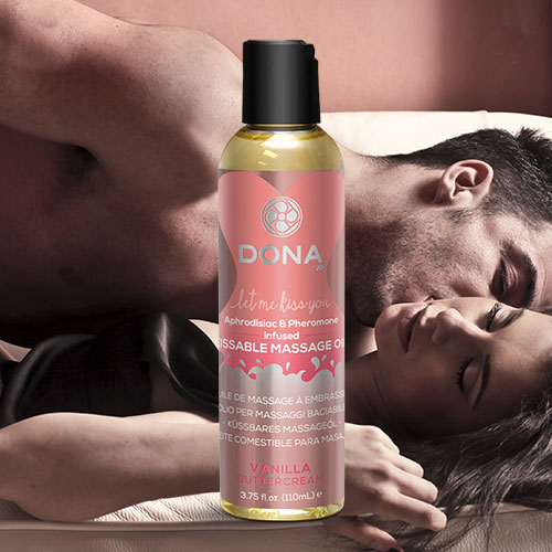 Dona | Kissable Massage Oil | Vanilla Buttercream
