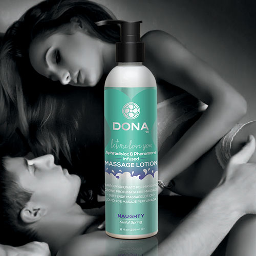 Dona | Scented Massage Lotion | Naughty Sinful Spring