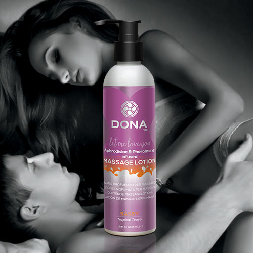 Dona | Scented Massage Lotion | Sassy Tropical Tease