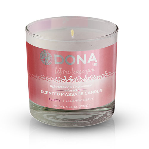 Dona | Scented Massage Candle Flirty Blushing Berry