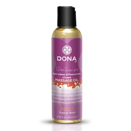 Dona | Scented Massage Oils | Sassy Tropical Tease