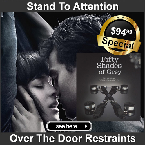 Fifty Shades Of Grey | Stand To Attention Over The Door Restraints