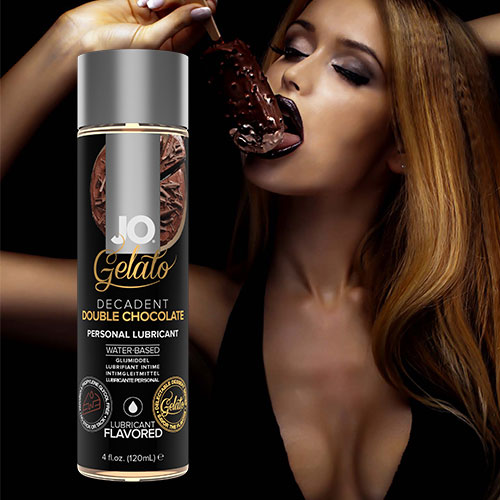 JO Gelato Decadent Double Chocolate (120mL) | Flavoured Lubricants