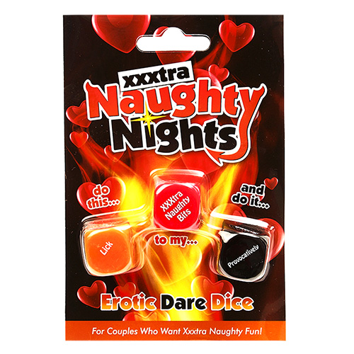 Naughty Nights Erotic Dare Dice | Sex Games | Sex Dice Game