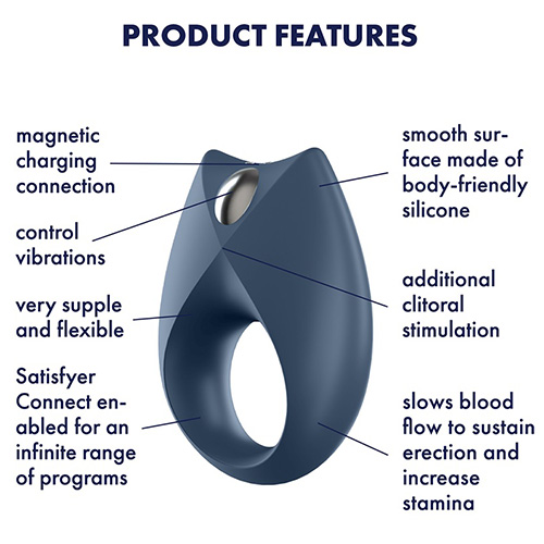 Satisfyer Royal One | Cock Ring Features
