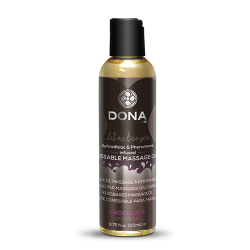 Dona | Kissable Massage Oil | Chocolate Mousse 110mL