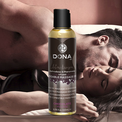 Dona | Kissable Massage Oil | Chocolate Mousse