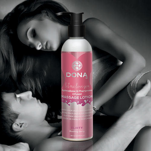 Dona | Scented Massage Lotion | Flirty Blushing Berry