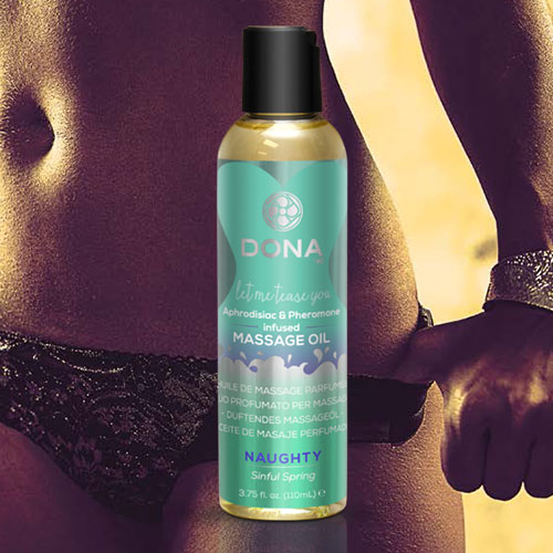 Dona | Scented Massage Oil | Naughty Sinful Spring