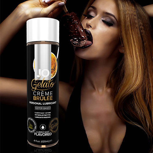 System JO Gelato Creme Brulee (120mL) | Flavoured Lubricants