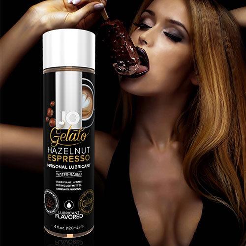 System JO Gelato Hazelnut Espresso (120mL) | Flavoured Lubricants