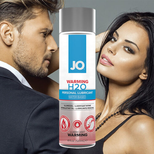 System JO H2O Warming (120mL) | Water Based Lubricant