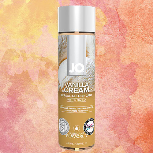 JO H2O Vanilla Cream (120mL) | Water Based Flavoured Lubricant