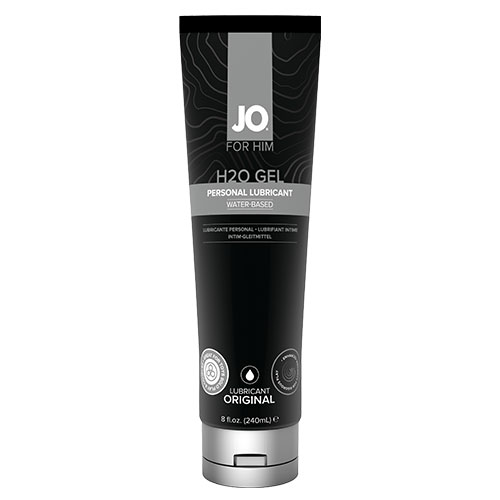 System JO H2O Gel For Him (240mL) | Water Based Lubricants
