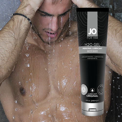 System JO H2O Gel For Him (240mL) | Water Based Lubricant