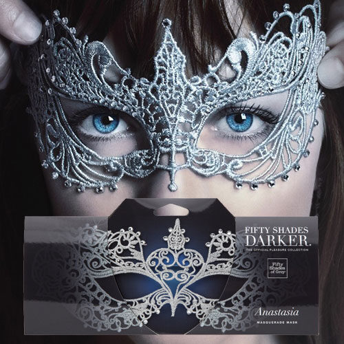 Fifty Shades Darker Anastasia Masquerade Mask | Sex Toys