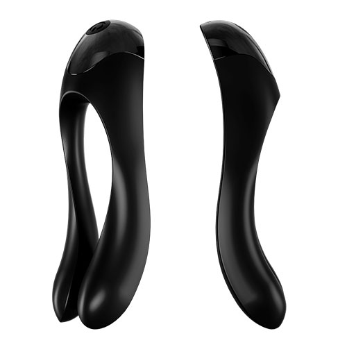 Satisfyer Candy Cane (Black) Side View