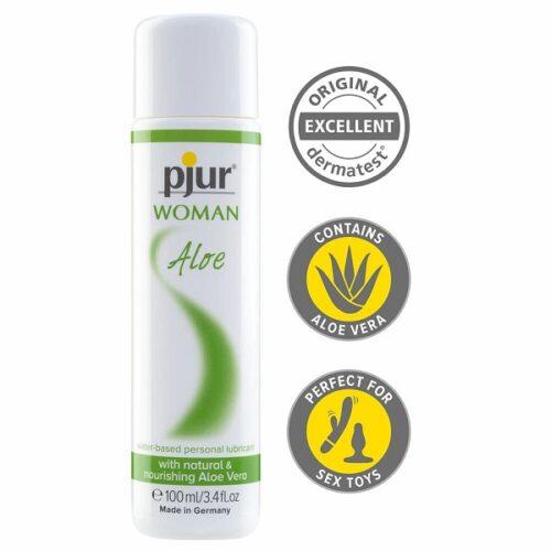 Pjur Woman Aloe (100mL)   Water Based Lubricants