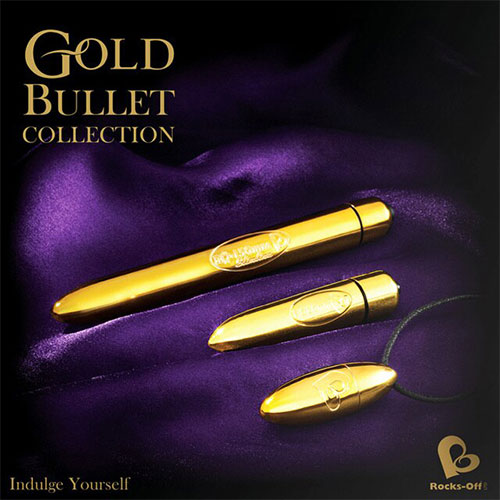 Feranti Gold Bullet Collection Box   Bullet Vibrators   Sex Toy Kits