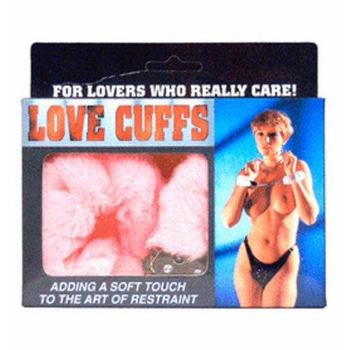 Fluffy Love Cuffs (Pink) | Handcuffs | Bondage Sex Toys